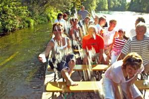 Floßfahrt 2009