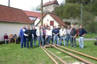 Maibaumsetzen 2006