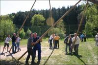 Maibaumsetzen 2007